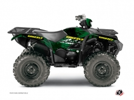 Yamaha 700-708 Grizzly ATV Wild Graphic Kit Green