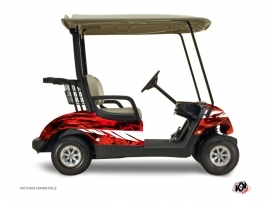 Yamaha G 29 Golf Wild Graphic Kit Red