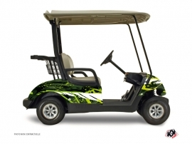 Yamaha G 29 Golf Wild Graphic Kit Green