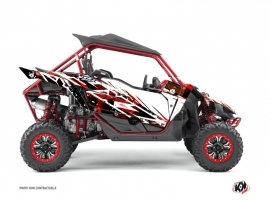 Yamaha YXZ 1000 R UTV Wild Graphic Kit Red