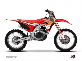 Kit Déco Moto Cross Wing Honda 250 CRF Blanc