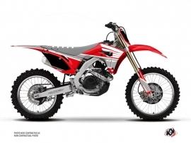 Honda 250 CRF Dirt Bike Wing Graphic Kit Grey