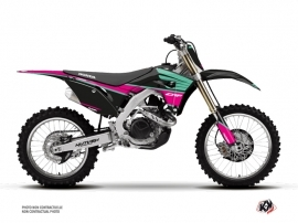 Kit Déco Moto Cross Wing Honda 250 CRF Turquoise