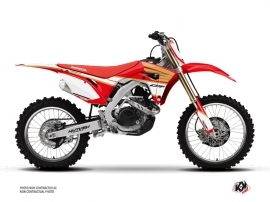 Kit Déco Moto Cross Wing Honda 450 CRF Blanc