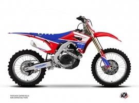 Honda 450 CRF Dirt Bike Wing Graphic Kit Blue