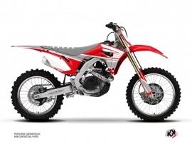 Honda 450 CRF Dirt Bike Wing Graphic Kit Grey