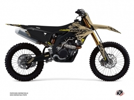 Suzuki 250 RMZ Dirt Bike Zero Graphic Kit Sand