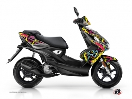Yamaha Aerox Scooter Zombies Colors Graphic Kit