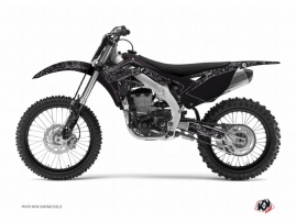 Kit Déco Moto Cross Zombies Dark Kawasaki 125 KX Noir