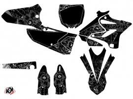 Yamaha 250 YZ Dirt Bike Zombies Dark Graphic Kit Black