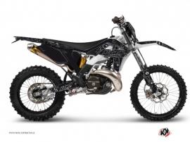 Kit Déco Moto Cross Zombies Dark Gasgas 125 EC Noir