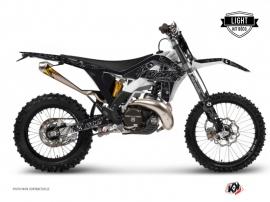 Kit Déco Moto Cross Zombies Dark Gasgas 125 EC Noir LIGHT