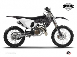 Husqvarna TC 125 Dirt Bike Zombies Dark Graphic Kit Black LIGHT