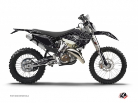 Kit Déco Moto Cross Zombies Dark Husqvarna 125 TE Noir