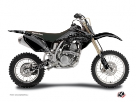 Honda 125 CR Dirt Bike Zombies Dark Graphic Kit Black