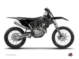 Kit Déco Moto Cross Zombies Dark KTM 125 SX Noir