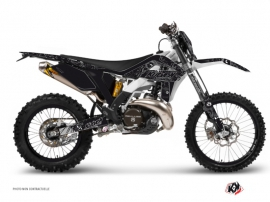 GASGAS 250 EC Dirt Bike Zombies Dark Graphic Kit Black