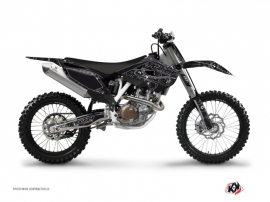 Kit Déco Moto Cross Zombies Dark Husqvarna TC 250 Noir