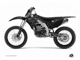 Kawasaki 250 KX Dirt Bike Zombies Dark Graphic Kit Black