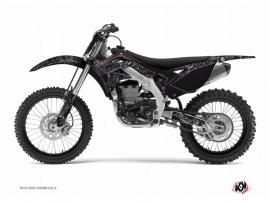 Kit Déco Moto Cross Zombies Dark Kawasaki 250 KX Noir