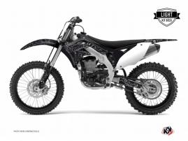 Kit Déco Moto Cross Zombies Dark Kawasaki 250 KXF Noir LIGHT
