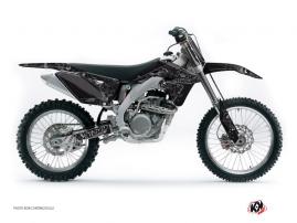 Kit Déco Moto Cross Zombies Dark Suzuki 250 RMZ Noir