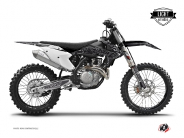Kit Déco Moto Cross Zombies Dark KTM 250 SXF Noir LIGHT