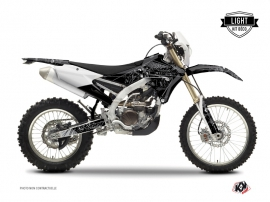 Kit Déco Moto Cross Zombies Dark Yamaha 250 WRF Noir LIGHT