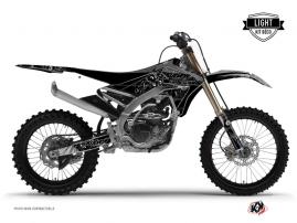 Kit Déco Moto Cross Zombies Dark Yamaha 250 YZF Noir LIGHT