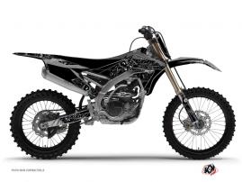 Kit Déco Moto Cross Zombies Dark Yamaha 250 YZF Noir