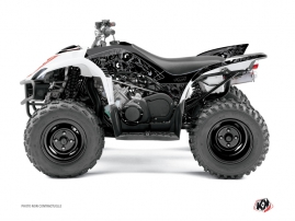 Yamaha 350-450 Wolverine ATV Zombies Dark Graphic Kit Black