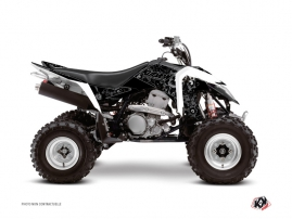 Suzuki 400 LTZ IE ATV Zombies Dark Graphic Kit Black