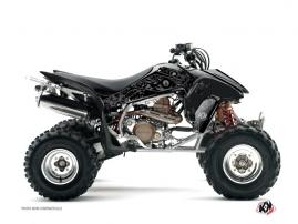 Kit Déco Quad Zombies Dark Honda 400 TRX Noir