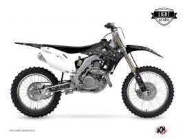 Honda 450 CRF Dirt Bike Zombies Dark Graphic Kit Black LIGHT