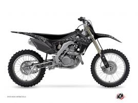 Honda 450 CRF Dirt Bike Zombies Dark Graphic Kit Black