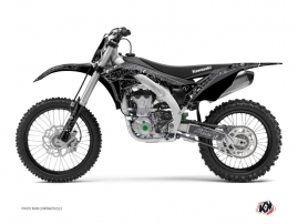 Kit Déco Moto Cross Zombies Dark Kawasaki 450 KXF Noir