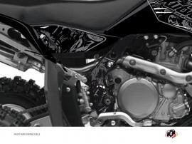 Kit Déco Protection de cadre Quad Zombies Dark Suzuki 450 LTR Noir