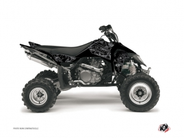 Suzuki 450 LTR ATV Zombies Dark Graphic Kit Black