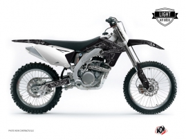 Kit Déco Moto Cross ZOMBIES DARK Suzuki 450 RMZ Noir LIGHT