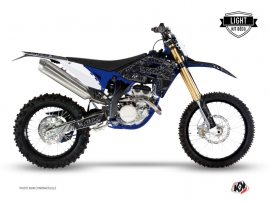 Kit Déco Moto Cross Zombies Dark Sherco 450 SEF R Noir LIGHT