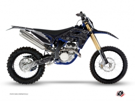 Kit Déco Moto Cross Zombies Dark Sherco 450 SEF R Noir