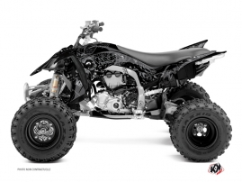 Kit Déco Quad Zombies Dark Yamaha 450 YFZ R Noir