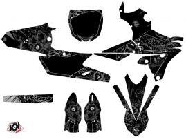 Yamaha 450 YZF Dirt Bike Zombies Dark Graphic Kit Black