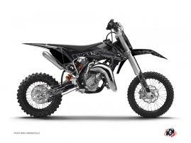 Kit Déco Moto Cross Zombies Dark KTM 50 SX Noir