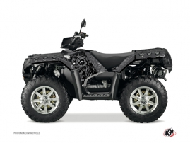 Kit Déco Quad Zombies Dark Polaris 550-850-1000 Sportsman Forest Noir