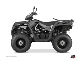 Kit Déco Quad Zombies Dark Polaris 570 Sportsman Forest Noir