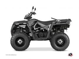 Polaris 570 Sportsman Touring ATV Zombies Dark Graphic Kit Black