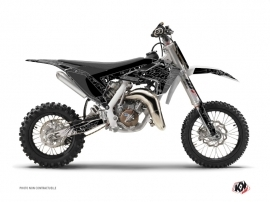 Kit Déco Moto Cross Zombies Dark Husqvarna TC 65 Noir