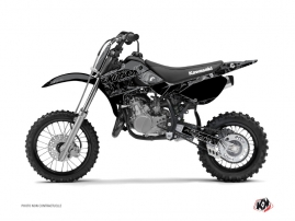 Kit Déco Moto Cross Zombies Dark Kawasaki 65 KX Noir