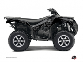 Kawasaki 650 KVF ATV Zombies Dark Graphic Kit Black